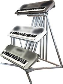 楽器展示販促什器