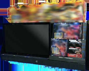 ゲームソフト展示什器