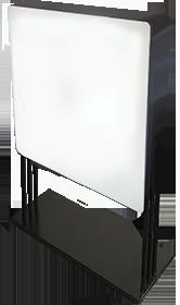 LEDサインスタンド什器